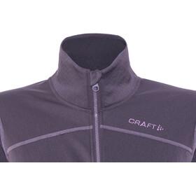 Craft Pin Halfzip Pullover Damen rich melange/montana